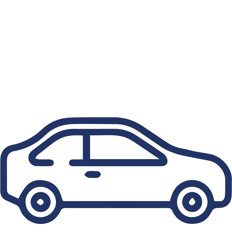icono seguro de auto